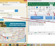 Excel Koordinat Kaydetme Programı