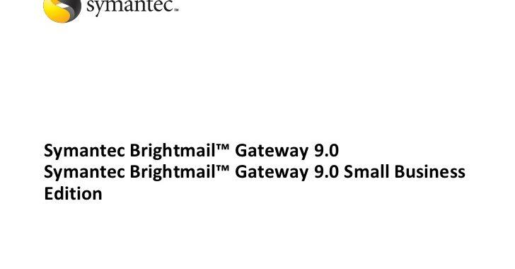 Symantec Brightmail için Good , Bad List  dosyaları