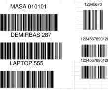 Excel Barcode Barkod Üretici EAN Code39