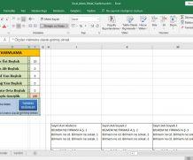 Excel Adres Etiket Yazdırma Programı