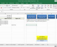 Excel IP Tarayıcı ve Sistem Bilgileri Programı