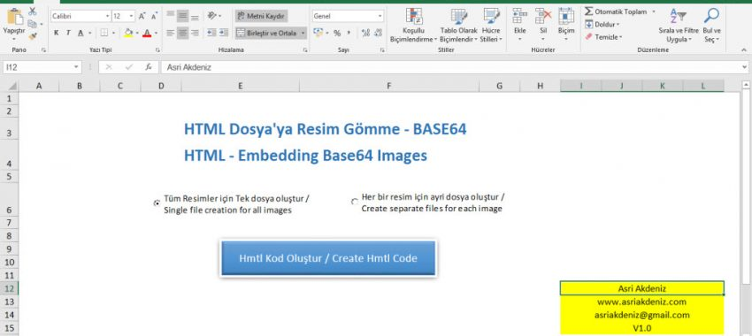 HTML – Embedding Base64 Images -Resim gömme
