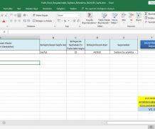 Tüm Excel Sayfalarını, Bir Sayfada Toplama -(Belirli bir sayfa için)