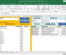 Hızlı Sipariş Fişi Programı (Müşteri İsmi ve Vergi No ile)