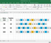 Excel Dört İşlem Oyunu