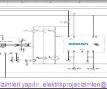 Elektrik proje çizimleri yapılır.