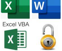 Excel ve Word Şifreleri Sıfırlanır
